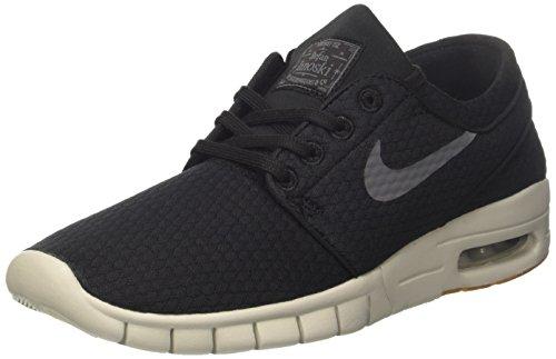 the best attitude 5c73f 25900 Nike SB Air MAX Janoski, Zapatillas para Hombre, Negro (Black Dark Grey