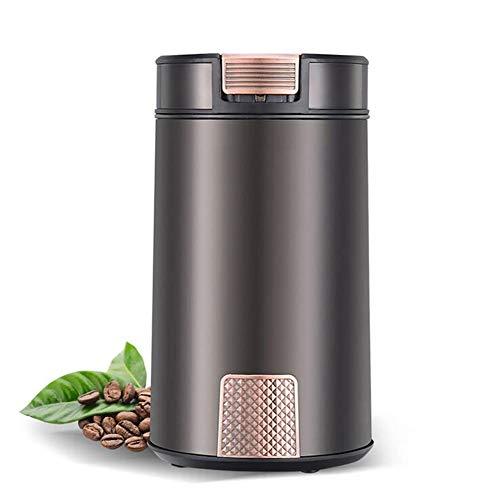 Elektrische Kaffeemühle Mit 304 Edelstahl Klingen Kaffeemühle Mit Hochwertigem Scheibenmahlwerk Für Kaffeebohnen Nuß Und Gewürz 60 G Fassungsvermögen150w