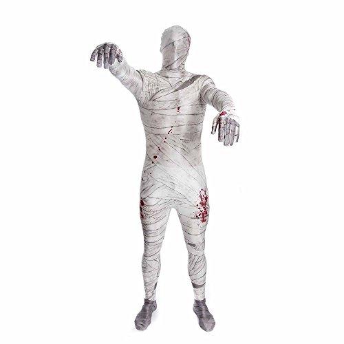 (Morphsuits Offizielles Erwachsene Mumie Monster Kostüm - Größe Mittel 5