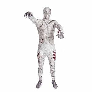 Morphsuits - Disfraz momia para hombre, talla M (MPMUM)