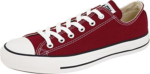 Converse Chucks All Star Ox Schuhe Sneaker Turnschuhe Rot M9691, Größenauswahl:42.5
