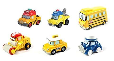 Robocar Poli - 83238 - Mini Véhicule Die Cast - Modèle aléatoire Mark/Bucky/Toto bus/ Max / Taco / Mr Moustache