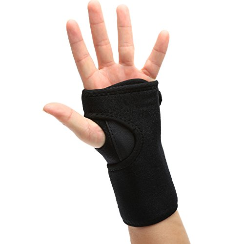 dophee-protect-wrist-band-fracture-support-brace-arthritis-carpal-tunnel-sprains-strain-left