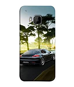 PrintVisa Designer Back Case Cover for HTC One M9 :: HTC One M9S :: HTC M9 (Auto Vechile Drive Luxury Race Power Wallpaper)