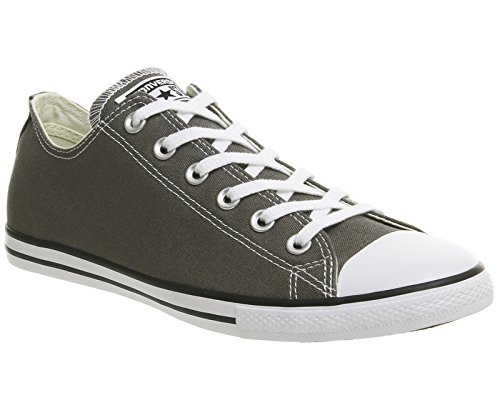 Converse Dainty Leath Ox 289050-52-17 , Sneaker donna Anthrazit