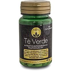 PHYTOFARMA Té Verde 100 comprimidos