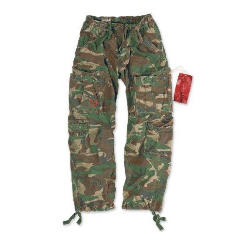surplus-airborne-vintage-pantaloni-woodland-taglia-l