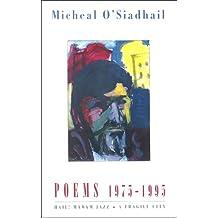 """Poems, 1975-95: """"Hail! Madam Jazz""""/""""A Fragile City"""""""