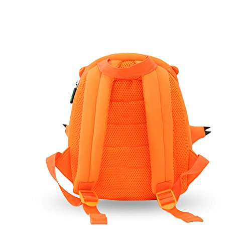Impermeabile bambino zaino bambini zaini scuola borsa zaino bambini Toddler zaino resistente neoprene 3D Cartoon Rex Orange