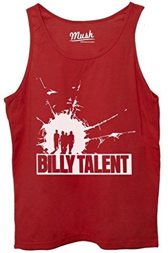 Canotta BILLY TALENT - FILM by MUSH Dress Your Style - Donna-XL-ROSSA