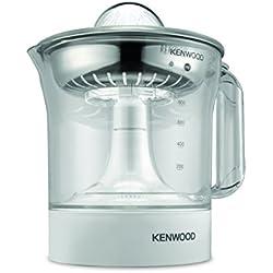 Kenwood JE290 Exprimidor de zumo de naranjas, rotación en 2 sentidos, 40 W, 1 L, color blanco