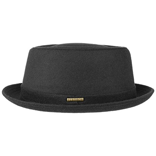 Stetson Sombrero Wool Pork Pie Mujer/Hombre - Made