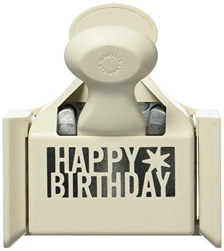 Martha Stewart Crafts Happy Birthday Tief erhöhen, mehrfarbig