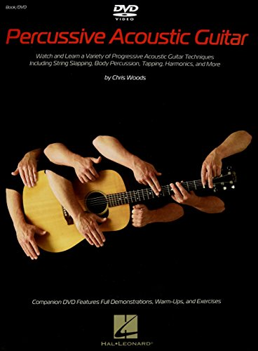 Percussive Acoustic Guitar by Chris Woods (24-May-2013) Paperback