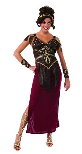 Damen Glamazon römischen Lady, Erwachsenen Kostüm–Standard Größe (Womens Römischen Halloween Kostüme)