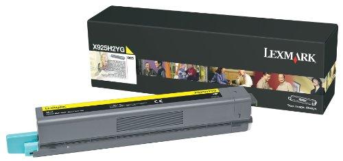 Preisvergleich Produktbild Lexmark X925H2YG X925 Tonerkartusche Höhekapazität 1er-Pack, 7.500 Seiten, gelb