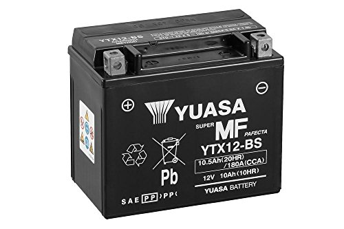 Used, Yuasa YTX12-BS battery, 12 V/10 Ah (Dimensions: 150X87X130) for sale  Delivered anywhere in Ireland