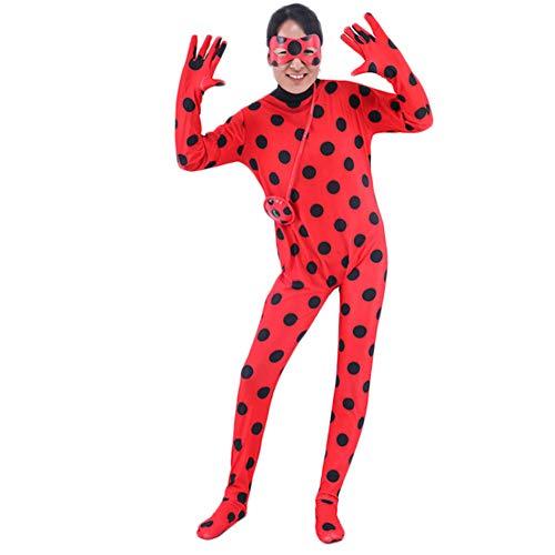 Preisvergleich Produktbild costyle Unisex Marienkäfer Mädchen Jumpsuit Halloween Kostüme Reddy Anime Body für Kid Erwachsene