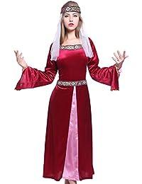 Robin Hood Maid Marian Marion Kostuem Burgfraeulein Kleid Mittelalter Magde Tudor Kleid Fasching Halloween Karneval Fest