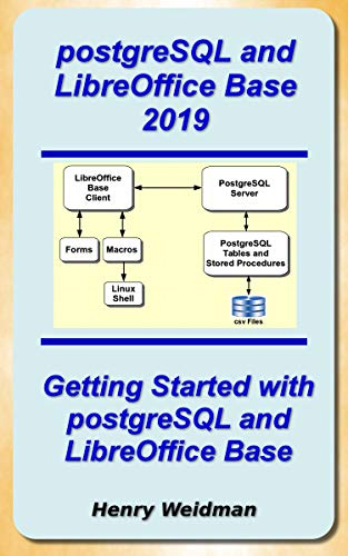 PostgreSQL and LibreOffice Base 2019 (English Edition)