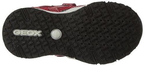 Geox J Bernie C, Sneakers Basses Garçon Rouge (Redc7000)