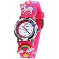 Ravel Kids 3D Roze Eenhoorn Tijd Leraar Horloge