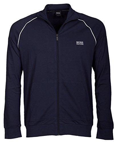 Hugo Boss Herren Sweatjacke Mix&Match Jacket Z Blau (462 Open Blue)
