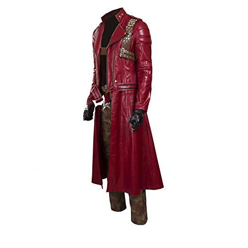 Glam Cos Devil May Cry 3: Dante's Awakening - Dante Male Cosplay Kostüm - - (Devil May Cry 5 Dante Cosplay Kostüm)