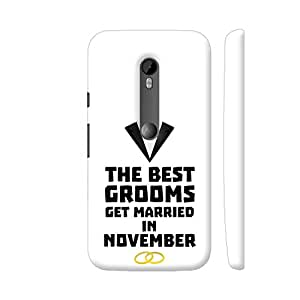 Colorpur Moto G Turbo Cover - The Best Grooms In November Case