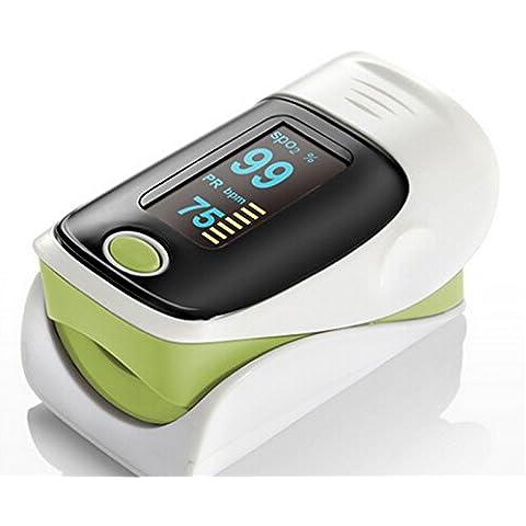 Highdas OLED impulso Finger Sangue Vota cardiofrequenzimetro dita Pulsossimetro