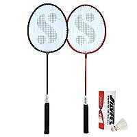 Silver's Unisex Adult Sil-Sm-Combo 5 Aluminum Badminton Set - Multicolor, G3