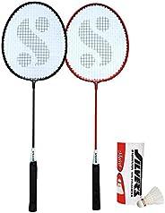 Silver's Unisex Adult Sil-Sm-Combo 5 Aluminum Badminton Set - Multicolor