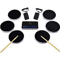 Baoffs Tambor electronico Digital Silicon Electronic Drum Drumming Rodado a Mano Agentes Mayoristas Parejas estéreo de Altavoces portátiles amortiguados para niños Principiantes