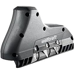 Wolfcraft 4009000 Canteadora triple corte, negro