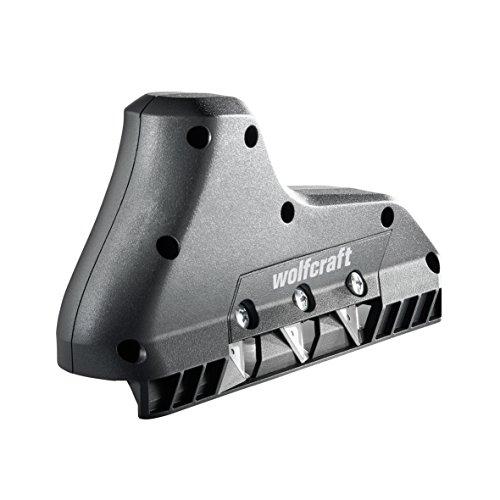Wolfcraft 4009000 3-fach Kantenhobel schwarz