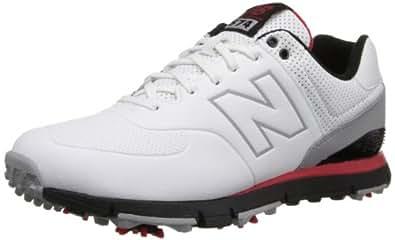 New Balance 574 Baskets pour homme Golf - multicouleur - Blanc/rouge/noir,