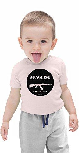 Junglist Conquest Organic Baby T-shirt 12 - 18 Months Bob Marley-baby Onesies
