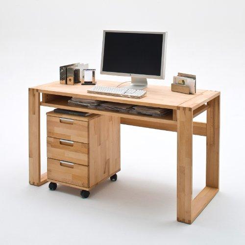 Schreibtisch Set 2-tlg »ENCO« Kernbuche massiv geölt gebraucht kaufen  Wird an jeden Ort in Deutschland