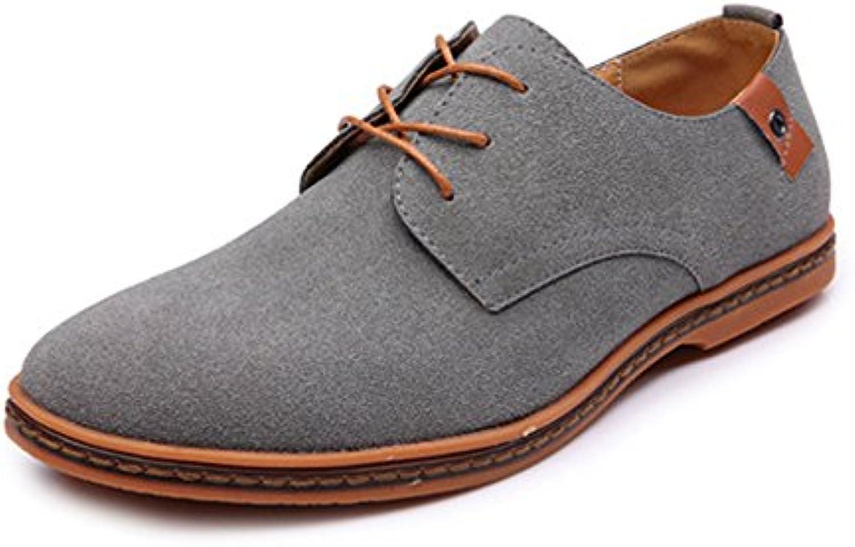 Xiaojuan-scarpe, 2018, Scarpe Stringate Casual da Uomo. Scarpe Stringate Basse in Pelle Sintetica (Coloree   Grigio... | Acquista  | Gentiluomo/Signora Scarpa