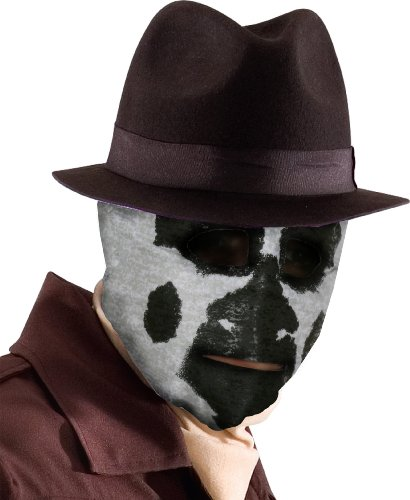 MORRIS COSTUMES, MASK - Rorschach Kostüm Maske