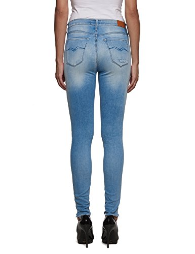 Replay Damen Jeanshose Joi Blau (Blue Denim 10)