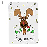 SIridescentZB Weihnachten iPad Hülle Cover Case fDeer Schutz Tablet Back oder Apple Air 2 Mini 2 4 for iPad Air 1#