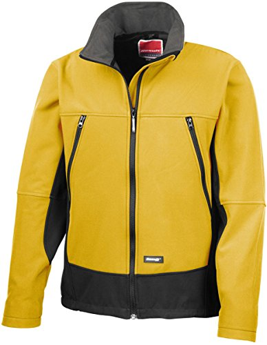 Result Activity Softshell Jacket Sport Yellow/Black