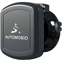 Porta cellulare magnetico auto –ruotabile a 360° - Aggancio semplice e sicuro alla bocchetta dell'aria - Soddisfatti o rimborsati – Perfetto per iPhone, Samsung, Nexus, e altri smartphone o GPS