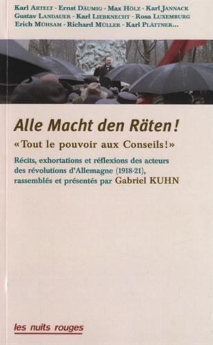 Tout le pouvoir aux Conseils ! par Gabriel Kuhn