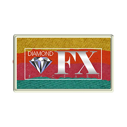 Diamond FX Custom Split Cake – 28 gm – Caribbean Sunset – RS30 – 47)