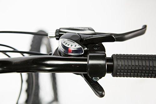 Moma Bikes Bisunnun Bicicletta Mountainbike 26 Unisex Adulto Nero Taglia Unica