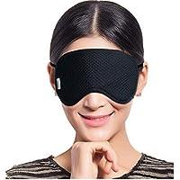 Melodycp Schlafmaske mit Augenmaske Schlafmaske für Männer und Frauen - Schwarz preisvergleich bei billige-tabletten.eu