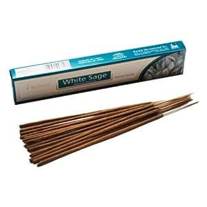 Tulasi Masala Incense Sticks (White Sage - 15 Sticks)