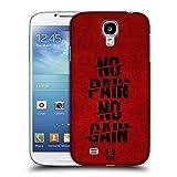 Head Case Designs No Pain No Gain Fitness Typographie Ruckseite Hülle für Samsung Galaxy S4 I9500